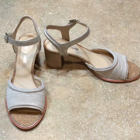 """bd88aeda4637 Clarks Shoes - CLARKS BLOCK HEEL """"ELLIS CLARA"""" NWOT"""